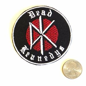 Dead Kennedys patch iron on band punk rock DIY